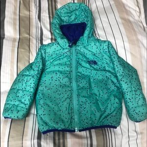 3T Northface reversible